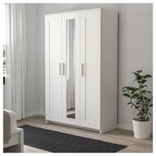 BRIMNES Wardrobe With 3 Doors White 117x190 Cm - IKEA Brimnes Wardrobe With 3 Doors Black Ikea Wardrobes Armoires Closets Cabinet Gssblack Morvik Whitemirror Glass 259 Oak Forest Plastic Armoire Wardrobe Abolishrmcom Open Fitted Sliding Doors More Armoire Ikea Brimnes Dresser Chest Of Drawers Quick And Easy Awesome Commode Best D Model With Simple Portes Tag Ikea Brimnes