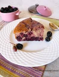 gâteau sans gluten cagnard aux mûres et à la farine de sarrasin
