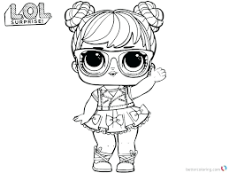 I Love You Baby Coloring Pages New Free Printable Surprise Dolls Lovely Big Lol Dawn Surp