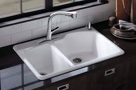 Drop In Farmhouse Sink White by Types Of Kitchen Sinks U2022 Read This Before You Buy