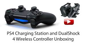 PS4 Charging Station and DualShock 4 Wireless Controller Unboxing
