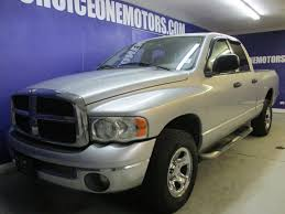 2003 Used Dodge Ram 1500 Quad Cab Short Bed 4x4 SLT!! At Choice One ...