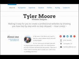 Create A Resume Website In WordPress