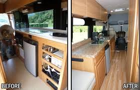 Interior Class B Remodel New Kitchen Flooring SCREEN DOOR
