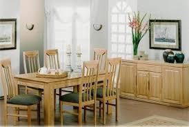 Quebec Oak Dining Room Suite