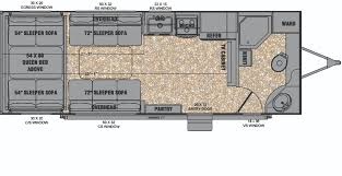 2016 5th Wheel Toy Hauler Floor Plans by Evergreen Introduces Reactor Travel Trailer Toy Hauler Line
