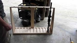 Diy Gun Cabinet Plans by Diy Gun Rack Youtube