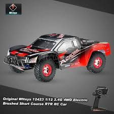 100 Best Short Course Truck Original Wltoys 12423 112 24G 4WD Electric RTR