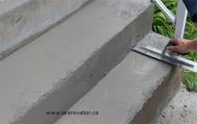 réparer un escalier de béton