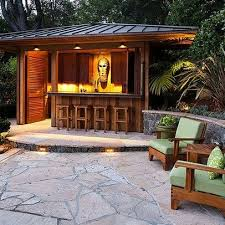 Patio Wet Bar Ideas by 14 Best Lean To Outdoor Bar Images On Pinterest Gardens Outdoor