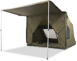 Oztent RV5 Canvas Touring Tent - Free Delivery | Snowys Outdoors Bcf Awning Bromame Awning For Tent Drive Van And Floor Protector Shade Oztrail Rv Side Wall Torawsd Extra Privacy Rv Extender Snowys Outdoors Tents Thule Safari Residence Youtube Best Images Collections Hd Gadget Windows Mac Kit 25m Kangaroo City And Bbqs Oztrail Tentworld Gazebo Chasingcadenceco