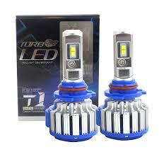 2pcs led headlight light bulbs high beam 6000k white 9005