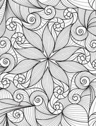 Adult Coloring Pages Printable Page Doodle