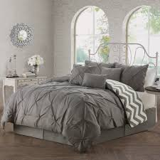 Bed Comforter Set by Comforter Set Queen Size Bedding Grey Germain 7 Piece Reversible