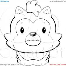 Cute Husky Coloring Pages Free Printable Mountain Dog