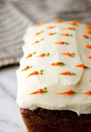 Carrot cake for Easter very cute decoration You could do this on cupcakes too
