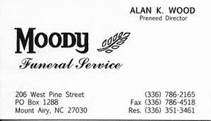 Moody Funeral Service