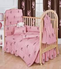 Pink Crib Bedding by Crib Bedding Just Camo