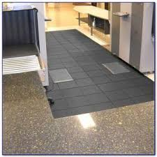interlocking rubber floor tiles for basement tiles home