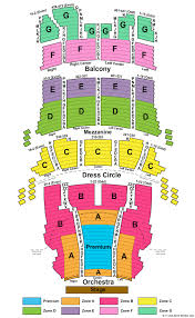 CIBC Theater Seating Chart
