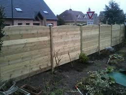mur de separation exterieur clôture bois clotures cloture bois bois et extérieur