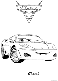 Skumi Lightning Mcqueen Coloring Pages Online Free For Download This Page With Full Size Select Images And Right Click On The Mouse Save