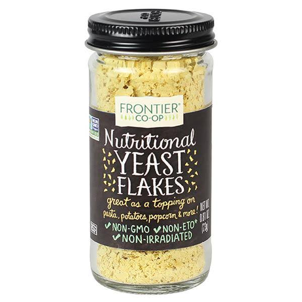 Frontier Nutritional Yeast Flakes - 0.81oz