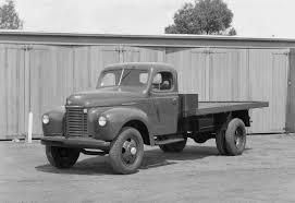 100 1946 International Truck Negative Harvester KS5 Tray Body
