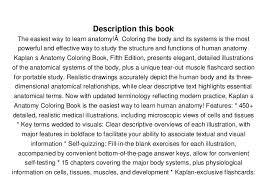 Download Anatomy Coloring Book Kaplan Stephanie McCann Ebook