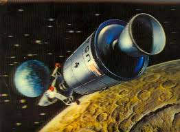 Vintage Space Art Id 87595