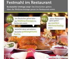 deutsche feiern weihnachten im restaurant