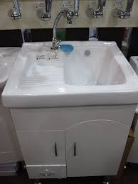 Stainless Steel Utility Sink Canada by Double Utility Sink With Cabinet Best Sink Decoration