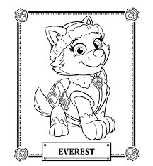 Paw Patrol Coloring Pages Best For Kids Beauteous Tracker Page
