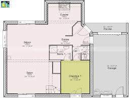 plan maison 4 chambres etage maison individuelle c t a tage avec 4 chambres 120 m plan etage