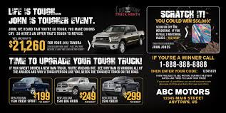 100 Who Makes Mail Trucks Tough Truck Event Direct For Automotive Dealerships NEW