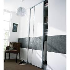 porte de placard chambre portes de placard coulissantes kraft 250 x 120 castorama