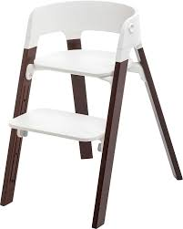 Abiie High Chair Amazon by Amazon Com Stokke Steps Children U0027s Highchair Walnut Brown Baby
