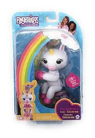 Fingerlings GIGI The Unicorn With PINK Hooves