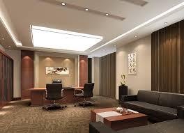 Endearing Modern Executive fice Interior Design Modern fice