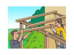 comment fabriquer soi même une pergola bois de jardin livios