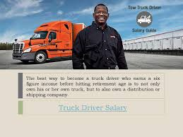 100 Truck Drivers Salary Driver Salary By Issuu