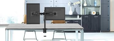 Vesa Desk Mount 100x100 by Dual Lcd Monitor Desk Mount Heavy Duty Fully Adjustable Fits Two