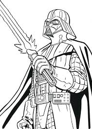 Full Image For Darth Vader Coloring Pages With To Print Star Wars