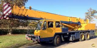 100 Truck Hoist Tadano TL250E 25Ton Telescopic Crane SOLD Material