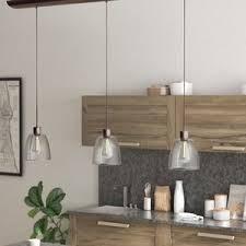 rubbed bronze kitchen lighting wayfair