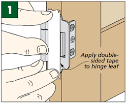 Non Mortise Cabinet Door Hinges by Tips U0026 Tricks For Installing Hinges Woodsmith Tips