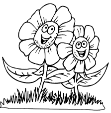 Spring Coloring Pages FLOWERS