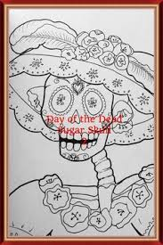 Day Of The Dead Sugar Skulls 2 By Monika Mira Adult ColoringColoring BooksDay