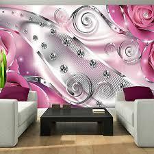 details zu fototapete rosa diamant 3d ornamente abstrakt schlafzimmer tapete wohnzimmer 83