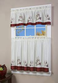 White Kitchen Curtains With Sunflowers by Kitchen Amazing Sears Kitchen Curtains Cafe Style Kitchen